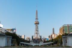 Nagoya city, nagoya tv tower. Royalty Free Stock Images