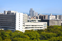 Nagoya city scape in Japan Royalty Free Stock Image