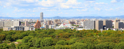 Nagoya city view Royalty Free Stock Photography