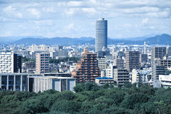 Nagoya cityscape Royalty Free Stock Photo