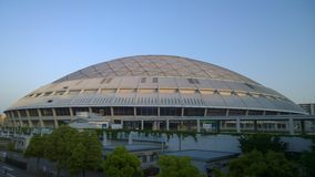 Nagoya Dome Baseball Stadium, Nagoya Japan. Royalty Free Stock Photos