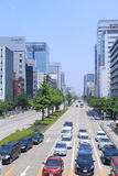 Nagoya downtown CBD Japan Stock Image