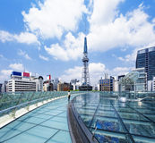 Nagoya downtown daytime, Japan City Royalty Free Stock Photos