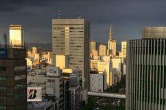 Nagoya downtown stock photo