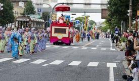 Nagoya festiwal, Japonia zdjęcie royalty free