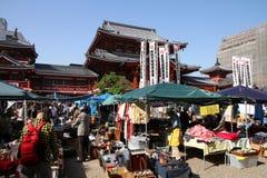 Nagoya flea market Royalty Free Stock Image
