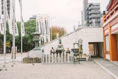 NAGOYA, JAPÃO - 21 DE NOVEMBRO DE 2016: Templo de Osu Kannon em Nagoya Imagens de Stock Royalty Free