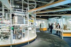 Nagoya, Japón - 18 de noviembre de 2015: Hou del museo de ciencia de la ciudad de Nagoya Foto de archivo libre de regalías