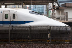 Nagoya Japan - April 1,2015: Den 700 serien Royaltyfri Foto