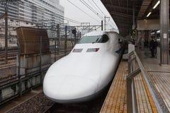 Nagoya Japan - April 1,2015: Den 700 serien Hikari Royaltyfri Foto
