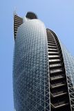 Nagoya, Japan. APRIL 28: Mode Gakuen Spiral Towers building on April 28, 2012 in . The building was finished in 2008, is 170m tall and is among most Royalty Free Stock Photography