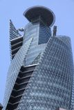Nagoya, Japan. APRIL 29, 2012: Mode Gakuen Spiral Towers building in . The building was finished in 2008, is 170m tall and is among most recognized Royalty Free Stock Photography