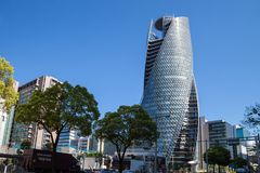 Mode Gakuen Spiral Towers building in Nagoya on APRIL 16,2016 at Stock Photography