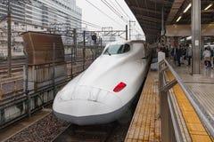 Nagoya,Japan - April 1,2015 : The N700A Series Nozomi Royalty Free Stock Photos