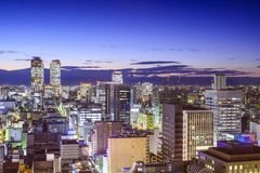 Nagoya, Japan Cityscape Royalty Free Stock Photo