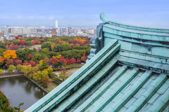 Nagoya, Japan - November 21 2013: Nagoya is a huge, rapidly deve Stock Photo