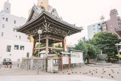 NAGOYA JAPAN - NOVEMBER 21, 2016: Osu Kannon tempel i Nagoya Royaltyfri Bild
