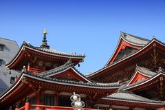 Nagoya, Japan. Osu Kannon - Buddhist temple in Nagoya, Japan royalty free stock image