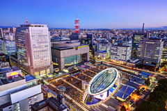 Nagoya Japan Skyline Stock Photography