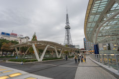 NAGOYA, JAPON - 21 NOVEMBRE : Oasis 21 à Nagoya, Japon sur NOVEMB Photographie stock libre de droits