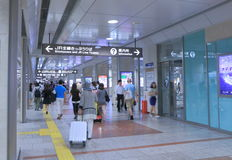 Nagoya JR Train Station Japan   Stock Photos