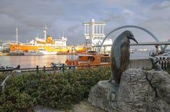 Nagoya Port, Japan royalty free stock photography