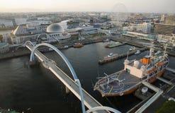 Nagoya port, Japonia Obraz Stock