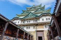 Nagoya slott i Japan Royaltyfria Bilder