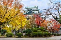 Nagoya slott i Japan Royaltyfri Fotografi