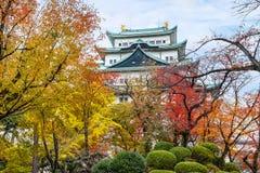 Nagoya slott i Japan Royaltyfri Foto
