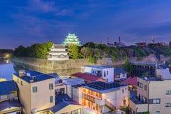 Nagoya slott Japan Royaltyfria Bilder