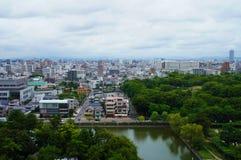 Nagoya stad, Japan Arkivfoto