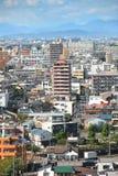 Nagoya stadsscape i Japan Royaltyfria Bilder
