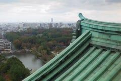Nagoya-Stadtansicht von Nagoya-Schloss, Japan Stockfotos