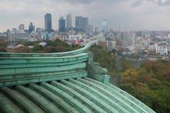 Nagoya-Stadtansicht von Nagoya-Schloss, Japan Stockbilder