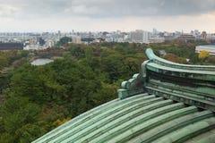 Nagoya-Stadtansicht von Nagoya-Schloss, Japan Lizenzfreies Stockbild