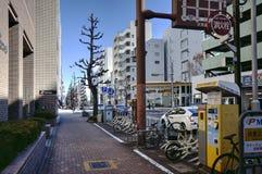 Nagoya street, Japan stock photography