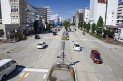 Nagoya street, Japan Royalty Free Stock Images