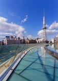 Nagoya Television Tower in Sakae district Royalty Free Stock Photos