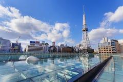 Nagoya Television Tower in Sakae district Stock Photography