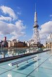 Nagoya Television Tower in Sakae district Stock Image