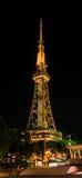Nagoya TV Tower. Night view of Nagoya TV Tower in Sakae. Nagoya, Japan Stock Image