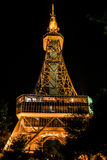Nagoya TV Tower. Night view of Nagoya TV Tower in Sakae. Nagoya, Japan Stock Photo