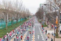 Nagoya Women's Marathon 2016 Stock Images