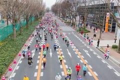 Nagoya Women's Marathon 2016 Royalty Free Stock Photos
