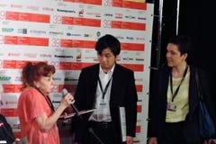 Nagradzać ceremonię 39th Moskwa Międzynarodowy Ekranowy festiwal Fotografia Stock