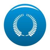 Nagradzający ikonie wektorowego błękit royalty ilustracja