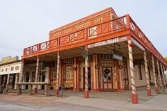 Nagrobek, Arizona, usa kowboja miasteczko fotografia stock