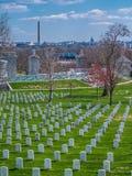Nagrobek przy Arlington Krajowym cmentarzem obraz royalty free