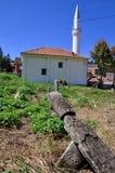 Nagrobek z gwiazdą dawidowa, Mlike meczet Obraz Royalty Free